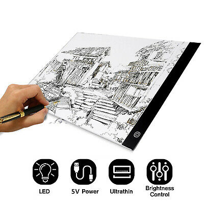 £14.29 • Buy Kid LED Drawing Copy Board Artist Tracing Light Box Thin Pad For Painting
