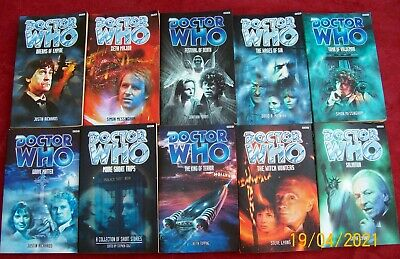 £24.99 • Buy Doctor Who - 10 Off FANTASTIC  BBC Doctor Who Paperback Book - VGC