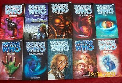 £24.99 • Buy Doctor Who - 10 BRILIANT BBC Doctor Who Paperback Book - VGC