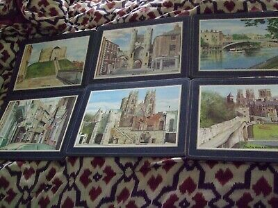£3.20 • Buy   Scenic York    Large X  6 X Cork Backed Placemats - 12  X 9  Vgc