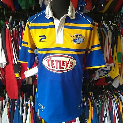 £21.99 • Buy Leeds Rhinos 2005 Home League Rugby Shirt Patrick Jersey Size Adult M