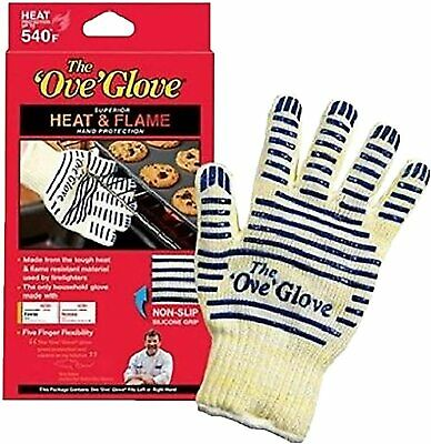 £5.48 • Buy BBQ Oven Gloves Single/Pair Kitchen Heat Proof Silicon Mitts Handler Hot Surface