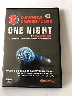 £3.99 • Buy Rawhide Comedy Club One Night At Rawhide In  Liverpool  Dvd Pre Owned