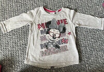 £1.99 • Buy Disney Minnie Mouse Top 12/18 Mths