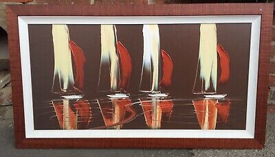 £69.79 • Buy Beautiful Yachts Piece By DMAC Duncan MacGregor Limited Edition  261/495 In Vgc