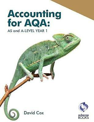 £19.22 • Buy Accounting For AQA  AS And A Level Year 1 Aqa Accounting, ,  Paperback