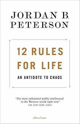 AU14.99 • Buy New 12 Rules For Life: An Antidote To Chaos Jordan Peterson PAPERBACK FREE SHIP