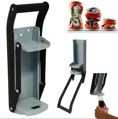 £15.29 • Buy 16OZ 500ml Tin Can Crusher Wall Mounted Large Beer Bottle Opener Recycling Tool