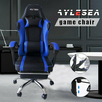 AU88 • Buy AYLESEA Gaming Chair Office Executive Computer Chairs Footrest Racing Recliner