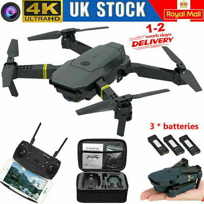 £30.97 • Buy Drone RC Drones Pro 4K HD Camera GPS WIFI FPV Quadcopter Foldable Bag Gifts 2021