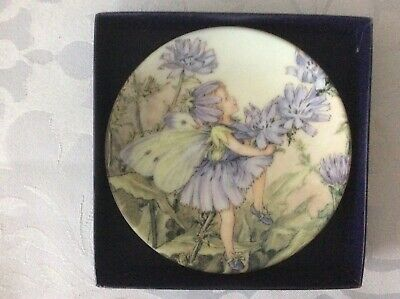 £3.25 • Buy ROYAL WORCESTER 'The Chicory Fairy  Flower Fairies' 9cm Diam Mini Plate Boxed