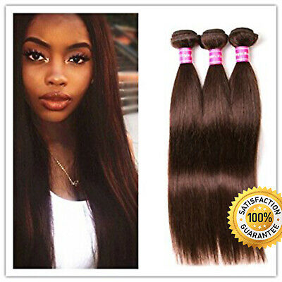 £44.99 • Buy 8A Beauty Remy Exuberant Lustrous Real Thick Human Hair Extensions Skin Weft