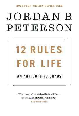 AU7.35 • Buy 12 Rules For Life, An Antidote To Chaos By Jordan B. Peterson