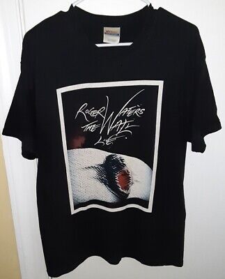 £9.31 • Buy Mens 2010 Roger Waters The Wall Live Tour Black T-Shirt Size Large