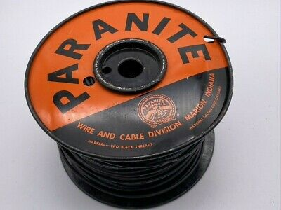 £31.83 • Buy VTG Spool Of Type TF 600v Single Solid Core Copper Fixture Wire 500 Feet 5 Lbs