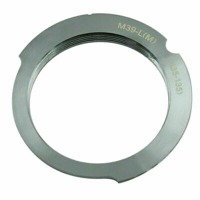 $7.19 • Buy For Leica L39 M39 LSM LTM 35-135 135mm Screw Lens To Leica M6 M8 M9 MP Adapter