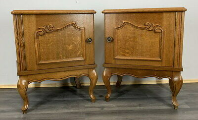 £149.99 • Buy Amazing Pair French  Bedside Tables Cupboards Cabinets Louis XVI