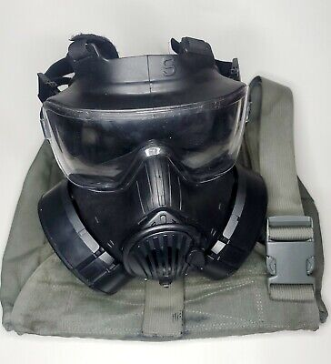 $500 • Buy Avon M50 Gas Mask Small With Both Filters & Carry Bag