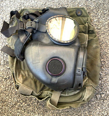 $79.99 • Buy US Military Issue M17 Gas Mask Respirator Size Medium W/ Bag