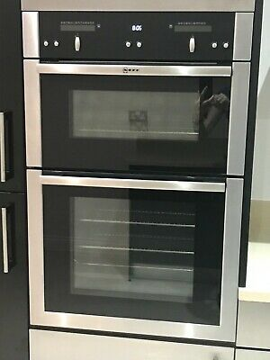 £50 • Buy Used Neff Electric Double Fan Oven Stainless Steel Excellent Condition