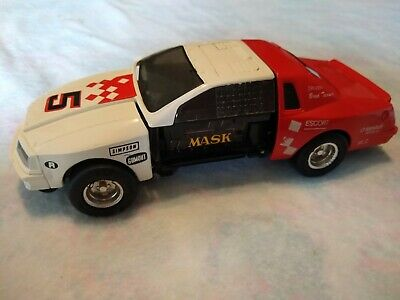 $13.50 • Buy M.A.S.K 1987 RAZORBACK Red & White Racecar Vintage Kenner Mask Toy - Collectible