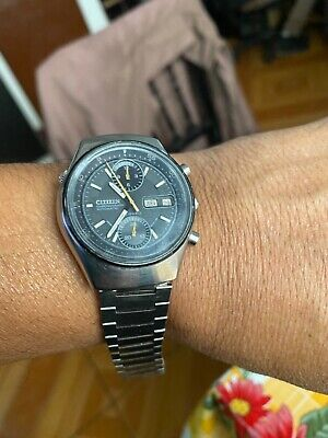 $ CDN12.44 • Buy Vintage Citizen Chronograph 8110a 23 Jewels Working Condition Japan Made