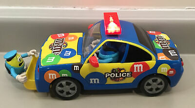 $5 • Buy 2010 M&M Chocolate candy Dispenser Multicolor Police Car Collectibles