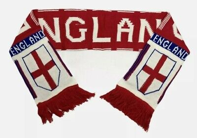 £8.98 • Buy England Euro 2021 Football Supporters Full Size Scarf Great Gift Pub Bar Mancave