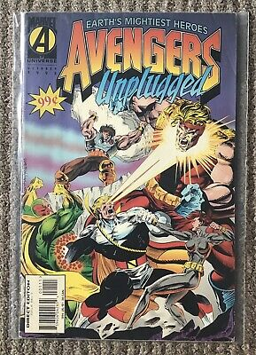 £10.99 • Buy AVENGERS UNPLUGGED Issue 1 MARVEL UNIVERSE - OCTOBER 1995 - Marvel Comic Series