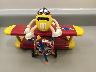 $2.99 • Buy  M&M's  Red's Barnstorming Rides  Bi-Plane Airplane Collectible Candy Dispenser