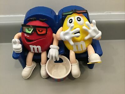 $0.99 • Buy M & M Collectibles Two Candies In Movie Seats Candy Dispenser.