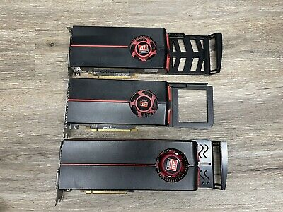 $79 • Buy Lot Of 3 Untested Radeon Graphics Cards For Mac