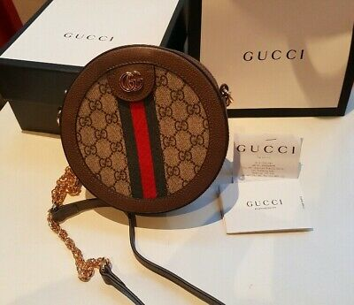 AU980 • Buy Gucci Ophidia Supreme Round Cross Body Bag Authentic Gucci