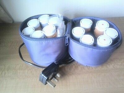 £9.99 • Buy Nicky Clarke Electric Heated Rollers NCR3 Compact Case W/ Pins Travel WORK Home