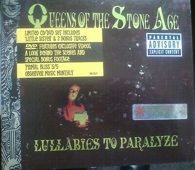 £0.99 • Buy Queens Of The Stone Age - Lullabies To Paralyze (Parental Advisory, 2005)