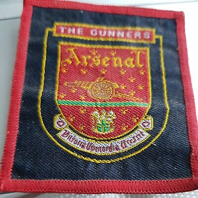 £12.50 • Buy Arsenal Vintage Sew On Badge/ Patch,  The Gunners Arsenal FC