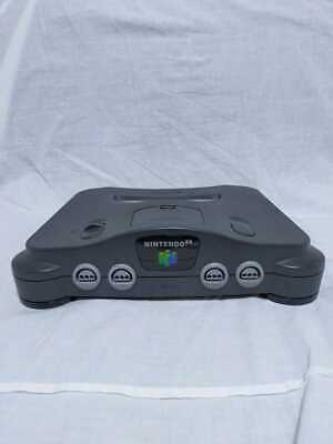 AU79.87 • Buy Nintendo 64 N64 Console Black Tested Working From Japan USED JP
