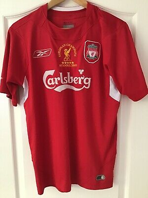 £24.95 • Buy Liverpool Champions League Final 2005 Istanbul Jersey Shirt S