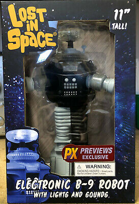 $ CDN111.46 • Buy Diamond Select Toys Lost In Space B9 Electronic Robot Anti-Matter Figure New