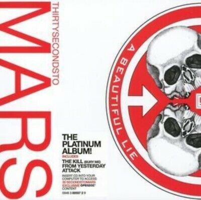 £7.72 • Buy 30 Seconds To Mars A Beautiful Lie CD .3.