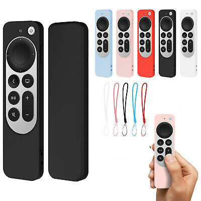 AU6.99 • Buy Silicone Protective Case Cover Skin Shell For Apple TV 4K 2021 Remote Controller