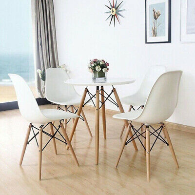 AU70.29 • Buy 2/4 Dining Chairs Chair Replica PU Leather Cafe Gaming Chair Office Chairs White