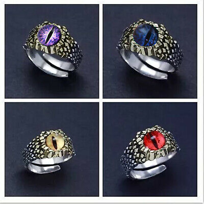 £2.71 • Buy Snake Ring Punk Style Motorcycle Party Retro Men's Python Ring Personality