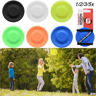 £5.16 • Buy 1-5 Flexible Mini Zip Chip Soft Spin Zipchip Outdoor Training Gravity Game Disc