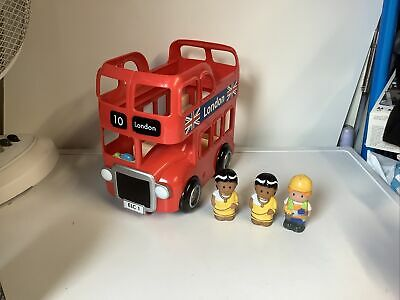 £9.99 • Buy ELC Happyland London Bus With Figures Toy Bundle Playset - With Working Sounds