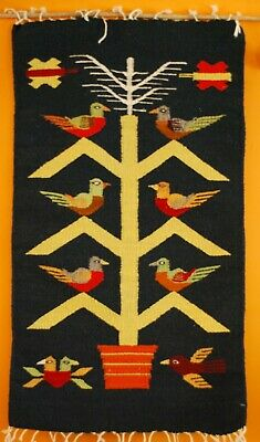 £40 • Buy Authentic Mexican Rug - Tree Of Life - Zapotec Rug