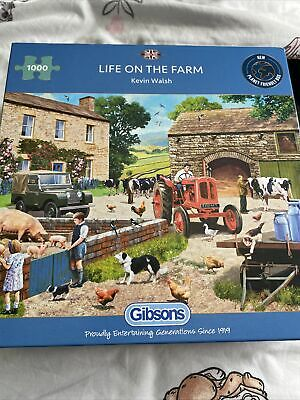 £5 • Buy Gibson Life On The Farm, Puzzle 1000 Pieces (G6304)