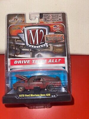 $19.99 • Buy 1970 Ford Mustang Boss 429 M2 Machines Auto-Projects Release 2 1:64 NIP