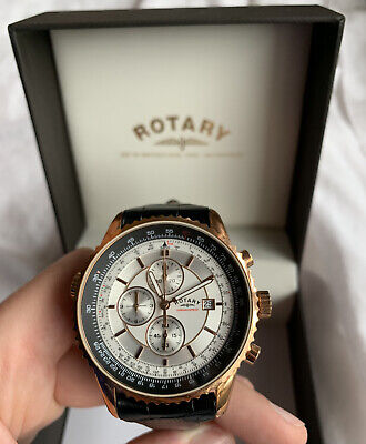 £25 • Buy Rotary Mens Watch GS03355/06 Genuine Leather