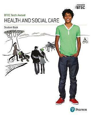 £23.45 • Buy Btec Tech Award Health And Social Care Student Book, Paperback By Baker, Bren...